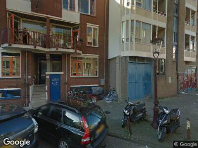 Brandweer met grote spoed naar Reinwardtstraat in Amsterdam