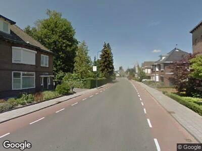 Ambulance met gepaste spoed naar Oude Stationsstraat in Heeze