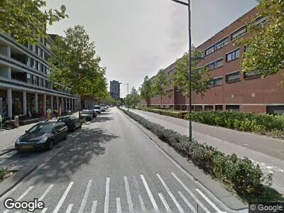Ambulance met grote spoed naar Onderwijsboulevard in 's-Hertogenbosch