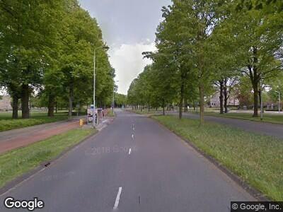 Ambulance met gepaste spoed naar Geldropseweg in Eindhoven