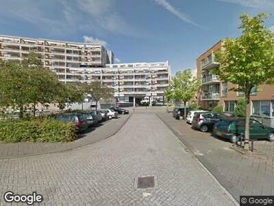 Brandweer met gepaste spoed naar Justpier in Zaandam