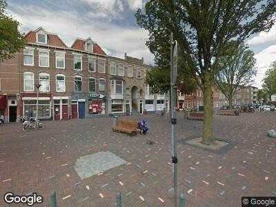 Brandweer met grote spoed naar Paul Krugerplein in 's-Gravenhage vanwege ongeval met letsel