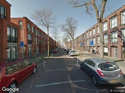 Brandweer met gepaste spoed naar Fischerstraat in 's-Gravenhage vanwege een buitenbrand
