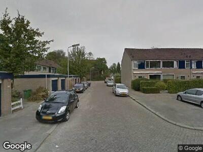 Ambulance met grote spoed naar Vijfde Buitenpepers in 's-Hertogenbosch
