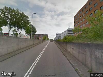 Politie naar Kabelweg in Amsterdam vanwege ongeval met letsel