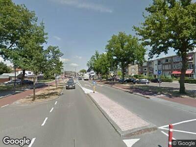 Politie naar Kuipersdijk in Enschede vanwege aanrijding met letsel