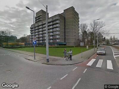 Ambulance met gepaste spoed naar Wilgenlei in Rotterdam