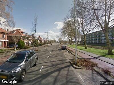 Ambulance met gepaste spoed naar Pascalweg in Rotterdam