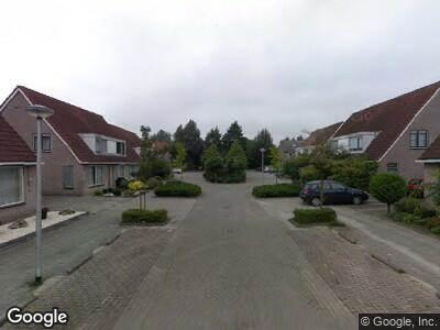 Brandweer met gepaste spoed naar Anna Blamanstraat in Waalwijk