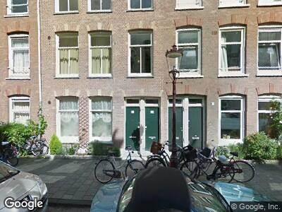 Ambulance met grote spoed naar Antonie Heinsiusstraat in Amsterdam