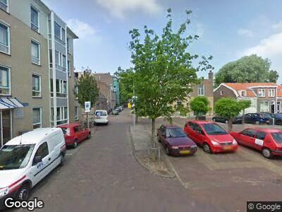Ambulance met gepaste spoed naar Wintertuinplein in Haarlem