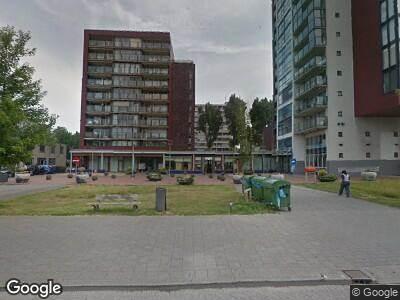 Brandweer met grote spoed naar Vlissingenplein in Rotterdam vanwege wateroverlast