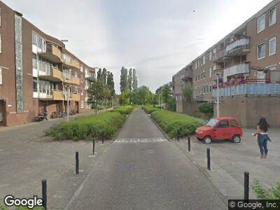 Brandweer met gepaste spoed naar Stellendamstraat in Amsterdam