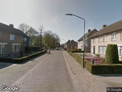 Ambulance met gepaste spoed naar Vendelstraat in Liempde