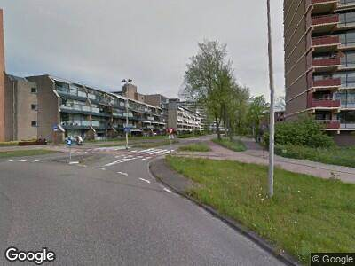 Politie met grote spoed naar Meerzichtlaan in Zoetermeer vanwege ongeval met letsel