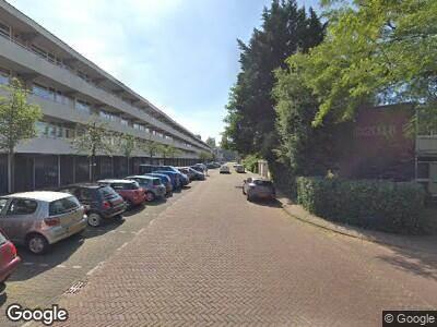 Brandweer met gepaste spoed naar Vlielandstraat in Amstelveen vanwege wateroverlast