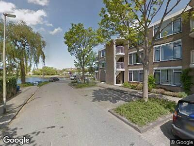 Ambulance met grote spoed naar Columbusrede in Zoetermeer