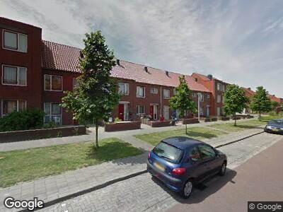 Ambulance met gepaste spoed naar Distelstraat in Nijmegen