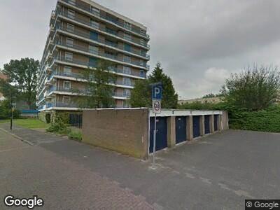 Ambulance met grote spoed naar Admiraalsplein in Dordrecht