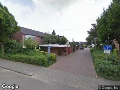 Ambulance met gepaste spoed naar Wildenborg in Barneveld
