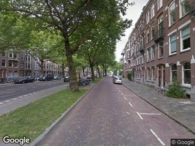Brandweer met grote spoed naar Mathenesserlaan in Rotterdam vanwege brand