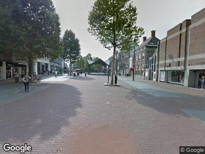 Politie naar Markt in Helmond vanwege overval