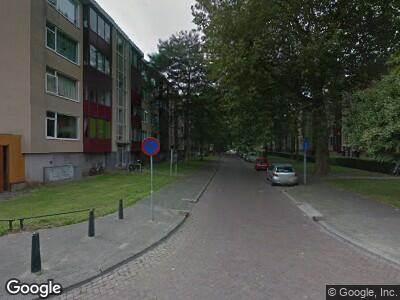Brandweer met grote spoed naar Colijnstraat in Dordrecht vanwege waarnemen gaslucht