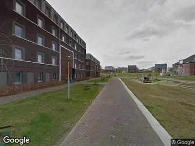 Ambulance met grote spoed naar Compagnieplaats in Arnhem