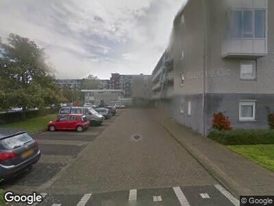 Ambulance met gepaste spoed naar Vijverplantsoen in Dordrecht
