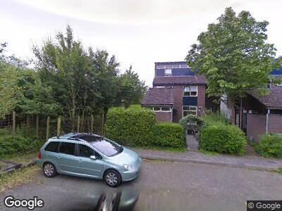 Politie met gepaste spoed naar Weideflora in Leeuwarden vanwege verkeersongeval