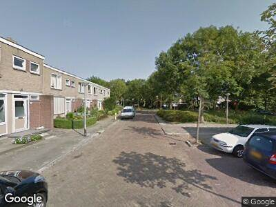 Ambulance met gepaste spoed naar Willem Kloospad in Delft