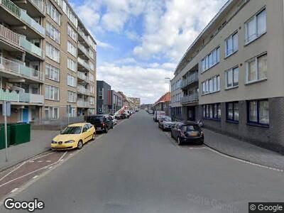 Ambulance met gepaste spoed naar Vissershavenstraat in 's-Gravenhage