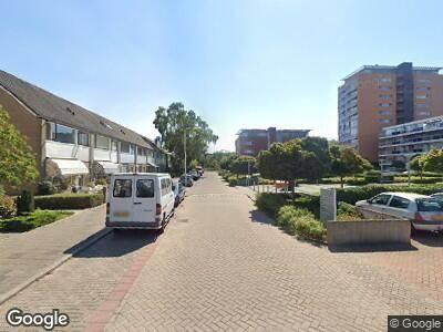 Ambulance met gepaste spoed naar Uranusstraat in Alphen aan den Rijn