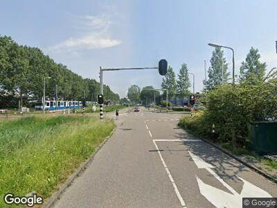 Ambulance met gepaste spoed naar Spinnerij in Amstelveen