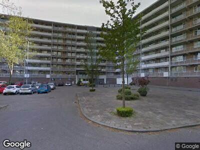 Brandweer met grote spoed naar Kelloggplaats in Rotterdam