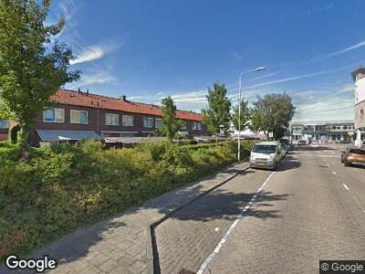 Ambulance met grote spoed naar Blokhuis in Lisse