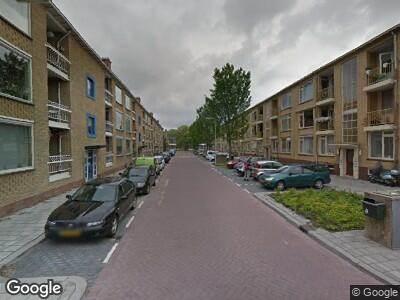 Ambulance met gepaste spoed naar Louise de Colignystraat in Gouda