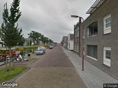 Brandweer met grote spoed naar Herenwal in Heerenveen