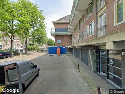 Brandweer met grote spoed naar Roomtuintjes in Amsterdam