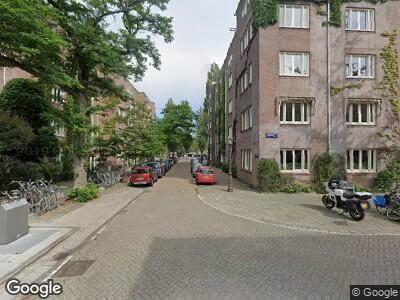 Besteld ambulance vervoer naar Gerard Terborgstraat in Amsterdam