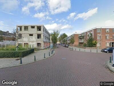 Brandweer met grote spoed naar Jacob Catsstraat in 's-Gravenhage vanwege waarnemen gaslucht
