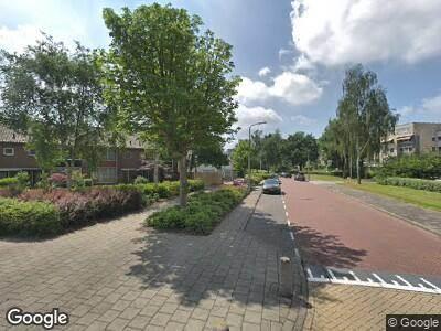 Ambulance met gepaste spoed naar Kastanjelaan in Amstelveen