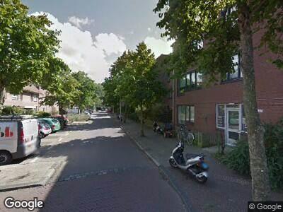 Brandweer met gepaste spoed naar Jules Massenetstraat in 's-Gravenhage vanwege een buitenbrand