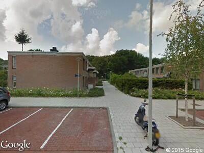 Ambulance met gepaste spoed naar Plantage Lepellaan in Amsterdam