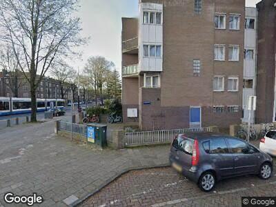 Besteld ambulance vervoer naar Postjeskade in Amsterdam