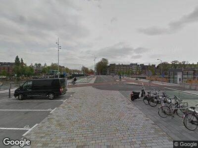 Brandweer met grote spoed naar Pontsteiger in Amsterdam vanwege brand