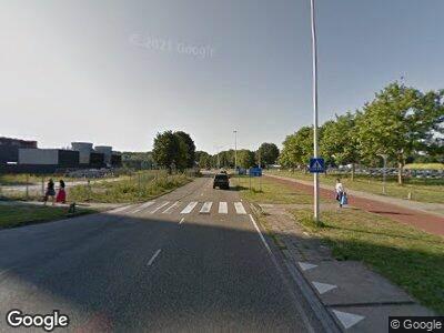 Ambulance met gepaste spoed naar Meibergdreef in Amsterdam