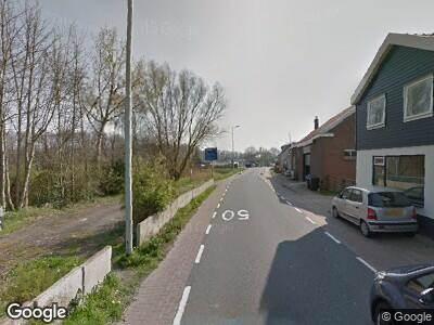 Ambulance met gepaste spoed naar Rijksstraatweg in Hellevoetsluis