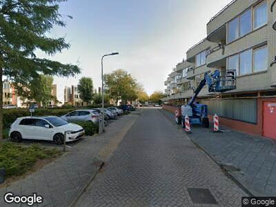 Ambulance met gepaste spoed naar Schouw in Alphen aan den Rijn