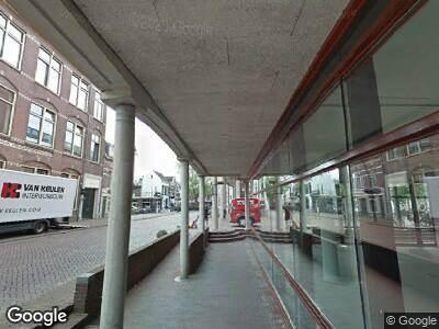 Brandweer met gepaste spoed naar Maagjesbolwerk in Zwolle vanwege brand